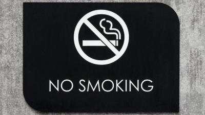 No Smoking no smoking plaque