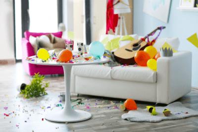 Messy BNB, Mess After Celebration